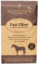 Bag of Allen & Page Fast Fibre