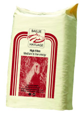 Bale of Baillie High Fibre Haylage