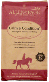Bag of Allen & Page Calm & Condition