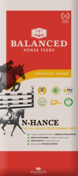 Bag of Balanced Horse Feeds N-Hance