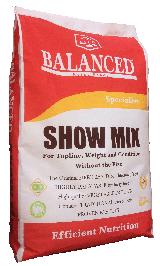 Bag of Balanced Horse Feeds Show Mix