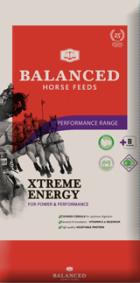 Bag of Balanced Horse Feeds Extreme Energy