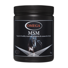 Tub of Omega Equine MSM Powder