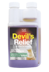 Bottle of NAF Devils Relief