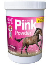 Tub of NAF Pink Powder