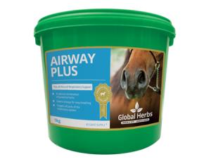 Tub of Gobal Herbs Airways Plus Powder