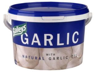 Tub of Baileys Garlic Supplement