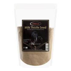 Tub of Omega Equine Milk Thistle