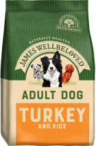 Bag of James Wellbeloved Adult Turkey & Rice