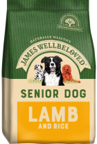 Bag of James Wellbeloved Senior Lamb & Rice