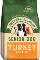 Bag of James Wellbeloved Senior Turkey & Rice