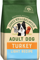 Bag of James Wellbeloved Adult Light Turkey & Rice