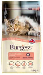 Bag of Burgess Cat Salmon