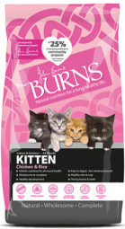 Bag of Burns Complete Kitten Food