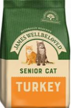 Bag of James Wellbeloved Senior Cat Turkey & Rice